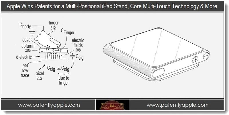 1 - Apple wins patents for a multi-positional iPad stand, core Multi-Touch Tech & More