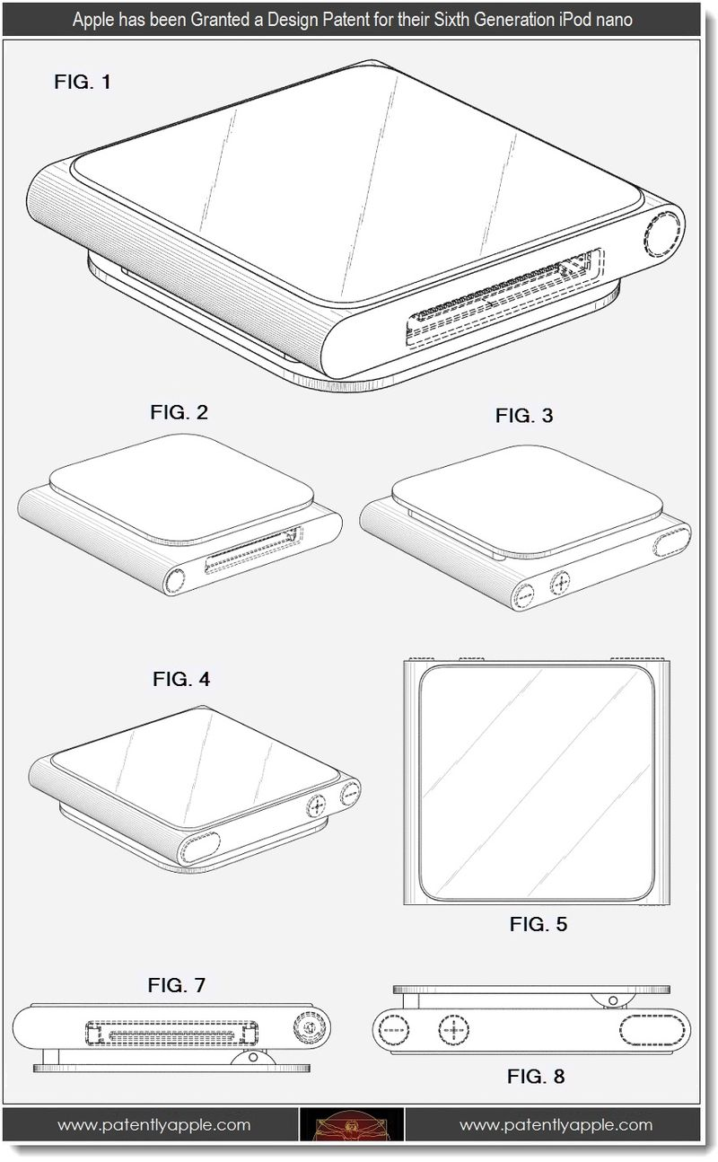6 - Apple Design Patent win for iPod nano 6th generation