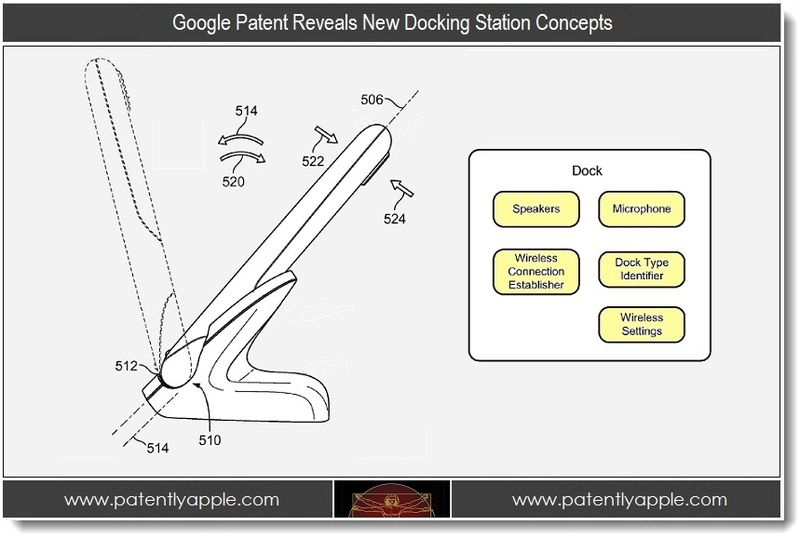 1 PA - Google Patent Reveals New Docking Station Concepts