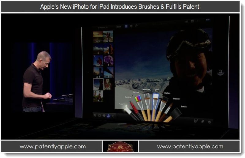 5 - Apple iPhoto Brushes fulfills Patent
