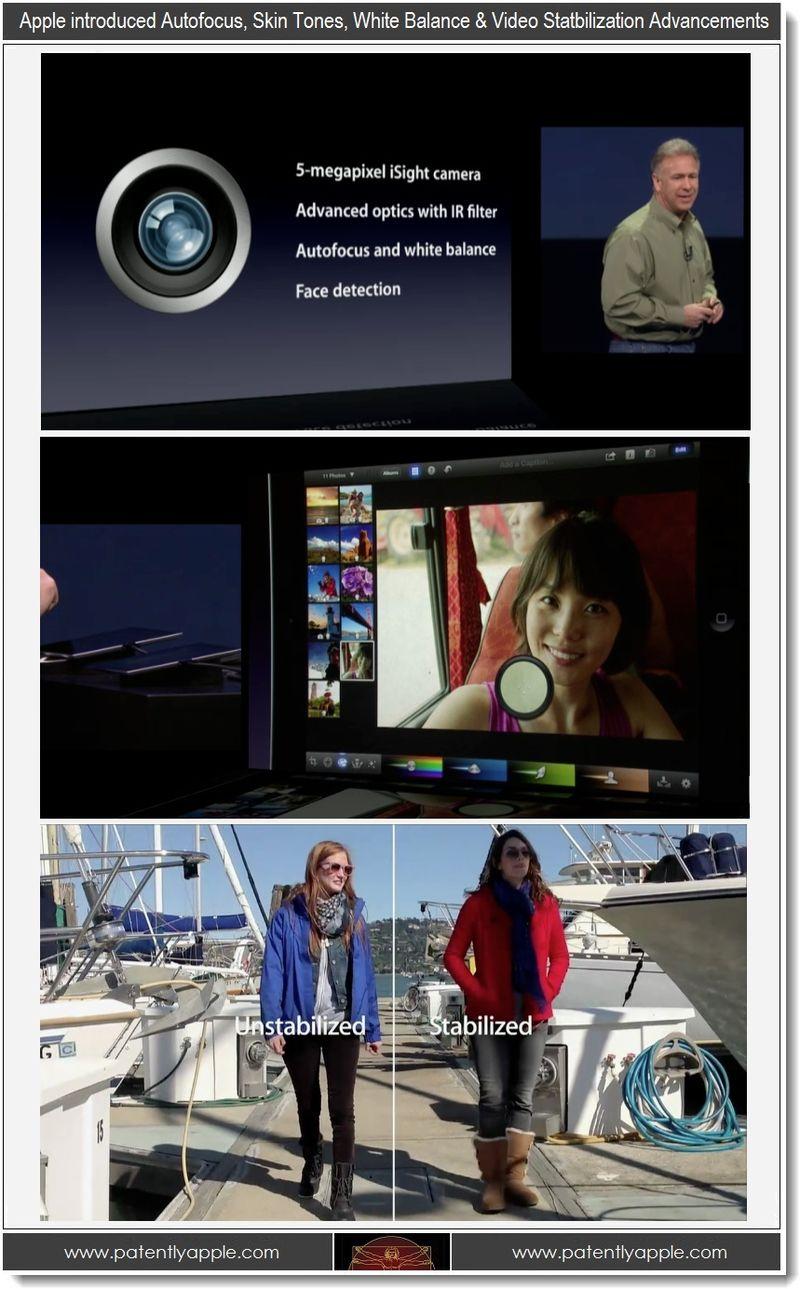 7 - Apple event, autofocus, skin tones, white balance, color boosting, video stablization