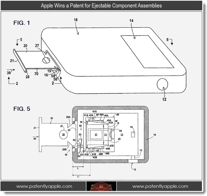 2 - Apple Wins a Patent for Ejectable Component Assemblies