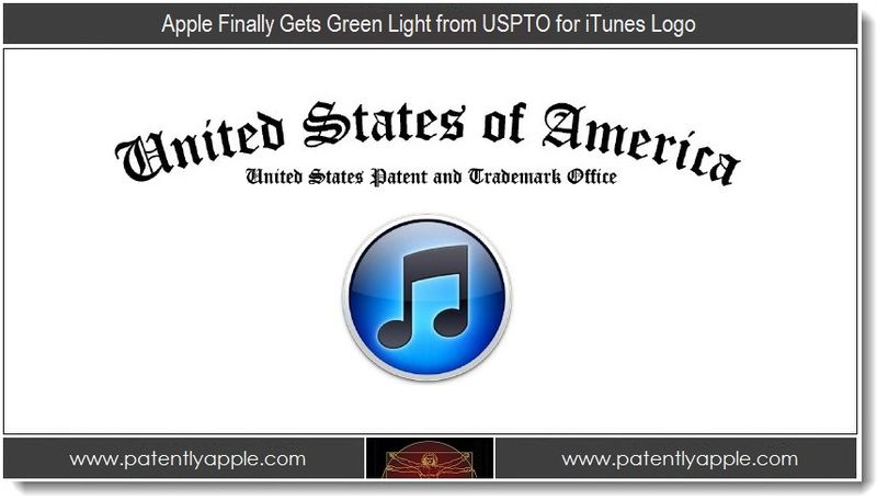 1 - Apple Finally Gets the Green Light from USPTO for iTunes Logo