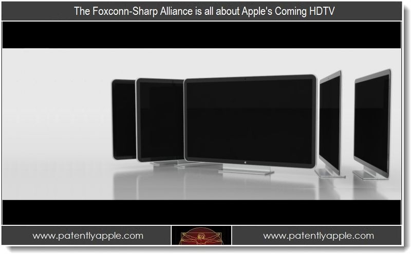 1.1 - The Foxconn-Sharp Alliance is all about Apple's Coming HDTV