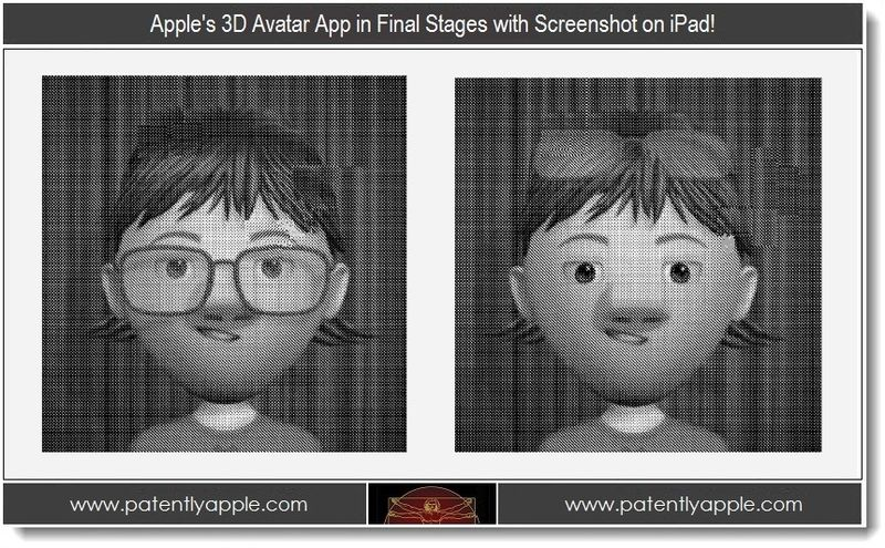 1 - Apple's 3D Avatar App in Final Stages with Screenshot on iPad