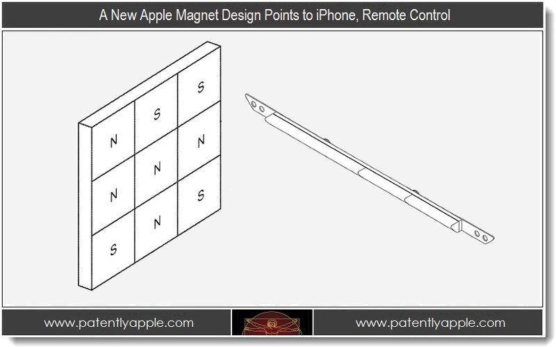 1 - A New Apple Magnet Deisgn Points to iPhone, Remote Control