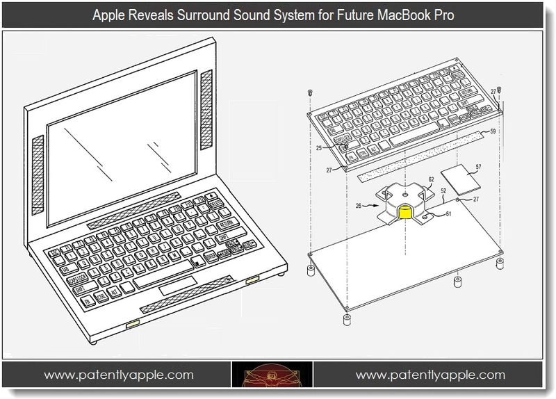1 - Apple Reveals Surround Sound System for Future MacBook Pro