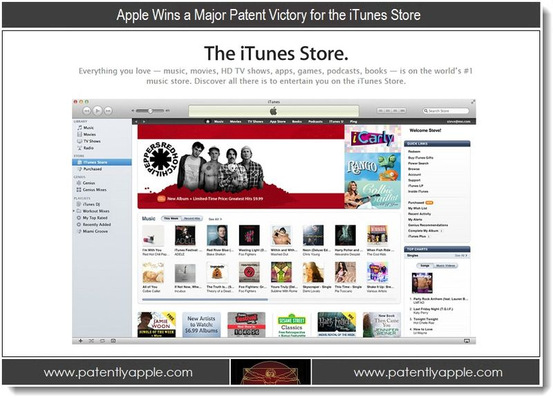 1 - Apple wins major patent victory for the iTunes Store