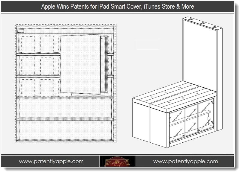 1 - Apple Wins Patents for iPad Smart Cover, iTunes Store & More
