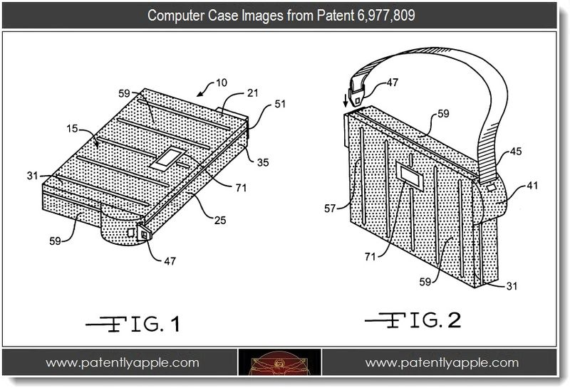 3 - computer case images from patent 6,977,809