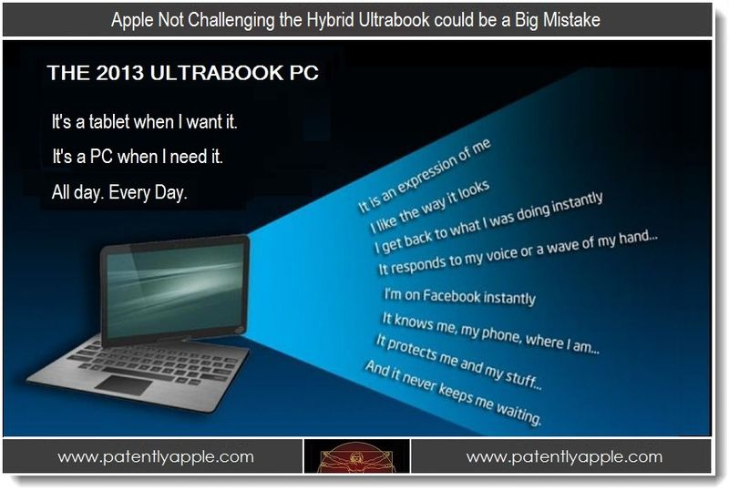 1 - Apple Not Challenging the Hybrid Ultrabook could be a Big Mistake