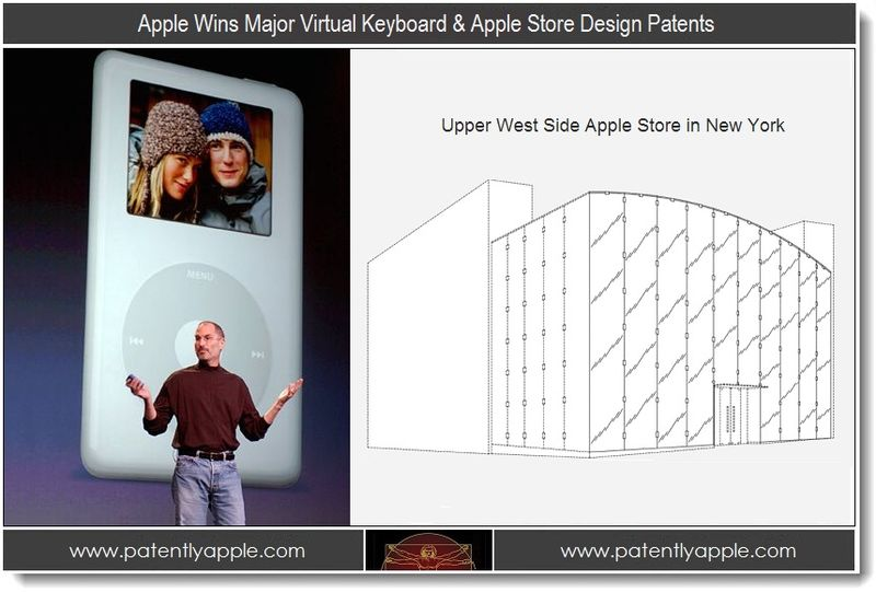 1. Apple Wins Major Virtual Keyboard & Apple Store Design Patents