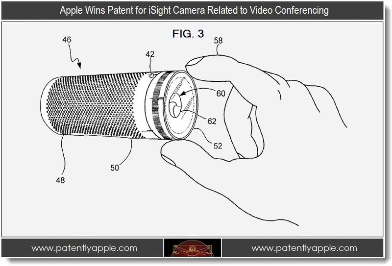 Extra - Apple Wins Patent for iSight Camera Related to Video Conferencing