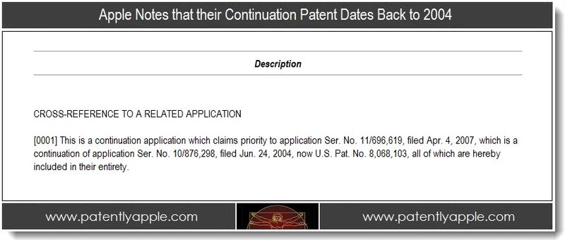 2. old continuation patent dates back to 2004