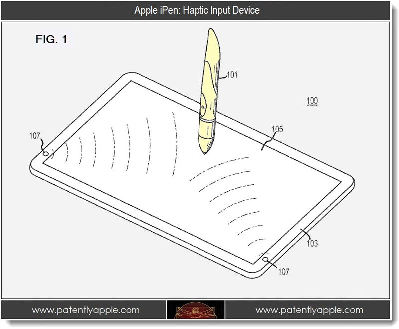 2. Apple iPen - Haptic Input Device