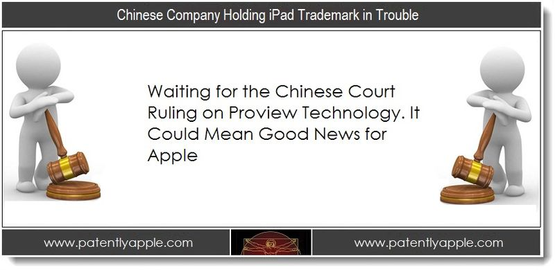 1. Chinese Company Holding iPad Trademark in Trouble