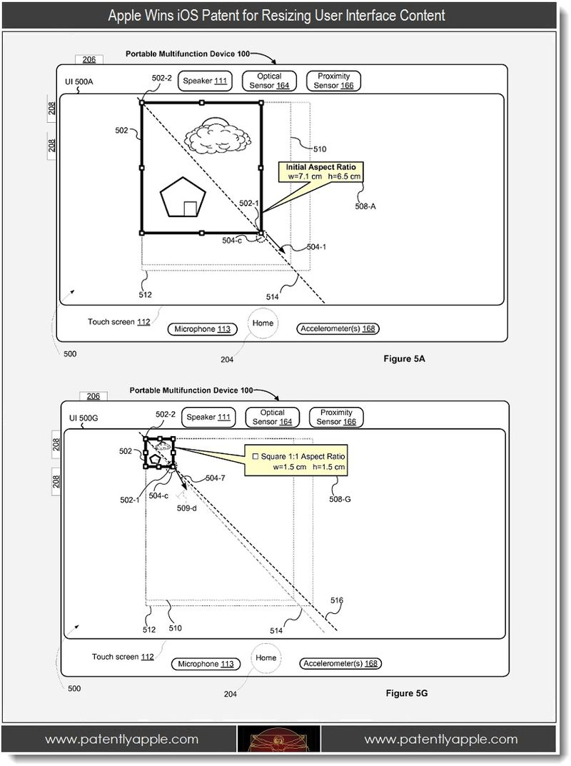 4. Apple Wins iOS Patent for Resizing User Interface Content