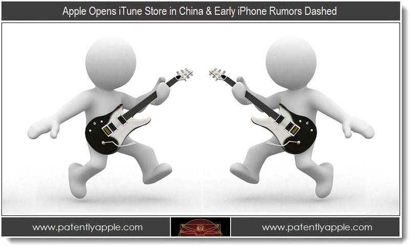 1. Apple Opens iTunes Store in China & Early iPhone Rumors Dashed