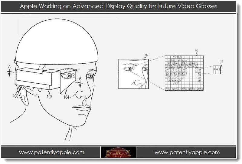 1. Apple Working on Advanced Display Quality for Future Video Glasses