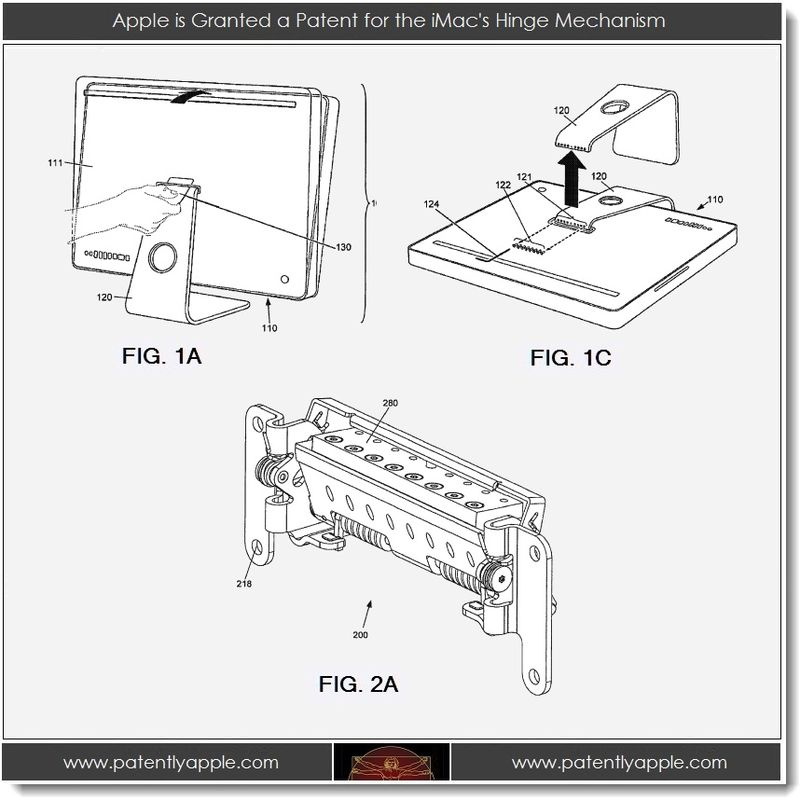 5. Apple is Granted a Patent for the iMac's Hinge Mechanism