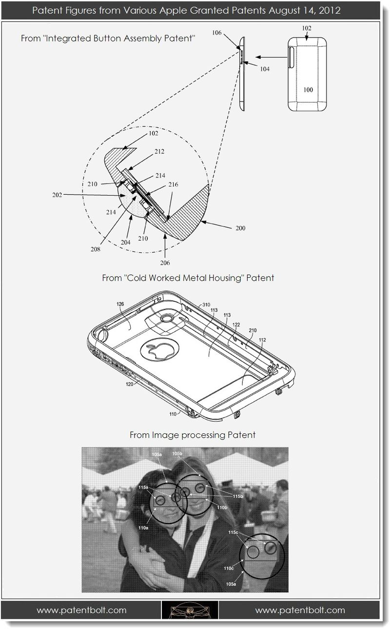Extra - Patent figures from various Apple Granted patents - Aug 14, 2012