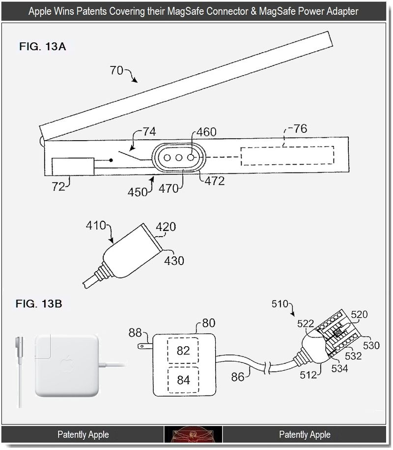 3 - MagSafe Connector and MagSafe Power Adapter
