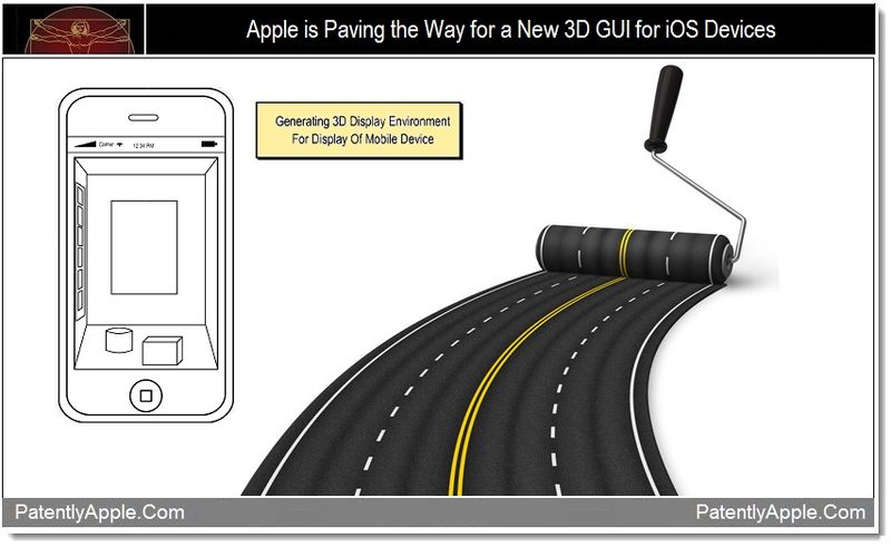 1 - Apple is Paving the Way for a New 3D GUI for iOS Devices