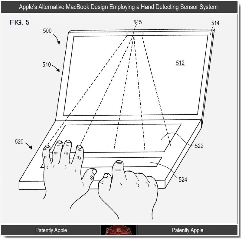 3 - Apple patent introduces Hand Detecting Sensor System, Jan 2012
