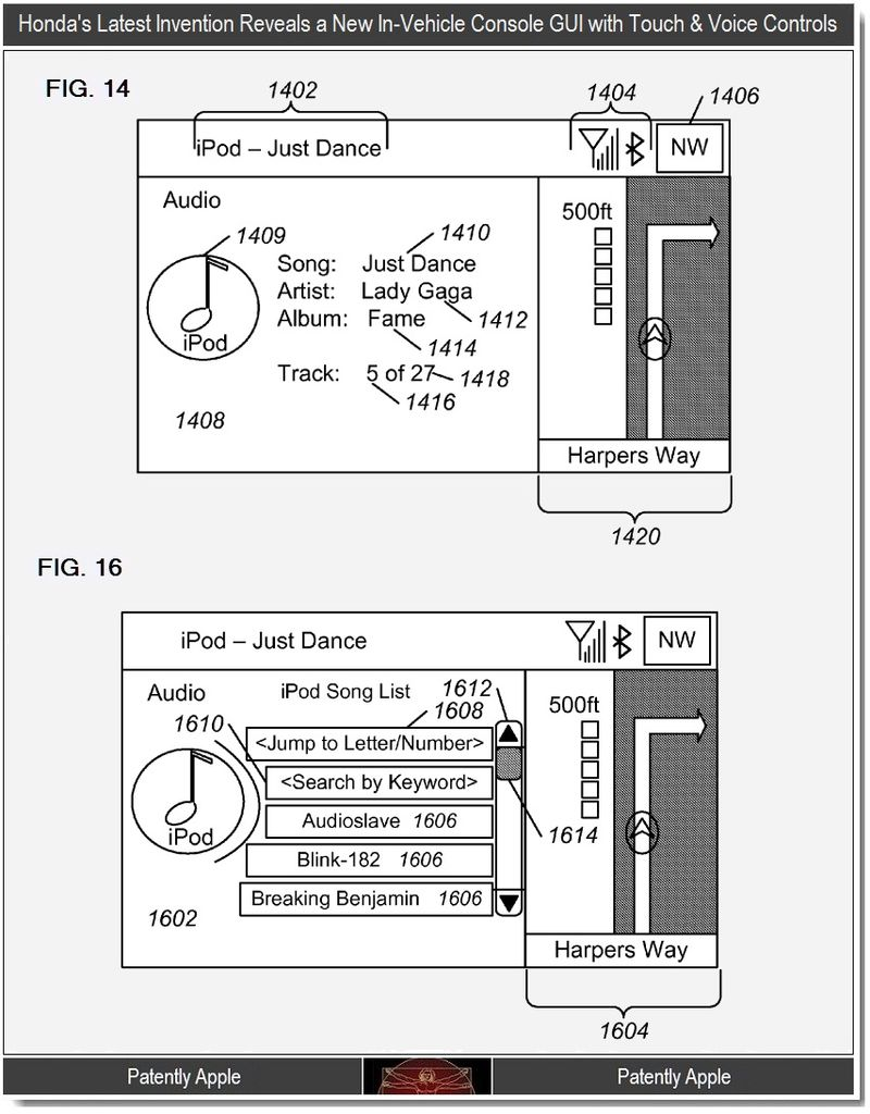 Bonus Graphic, Honda console to integrate iPod navigation