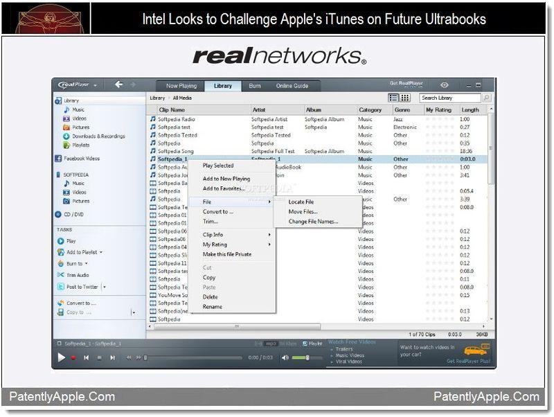 1 - Intel Looks to Challenge Apple's iTunes on Future Ultrabooks
