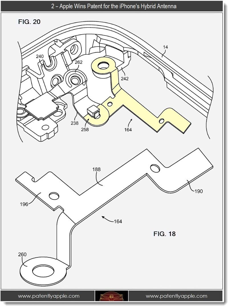 4 - 2 - Apple wins patent for the iPhone's hybrid antenna