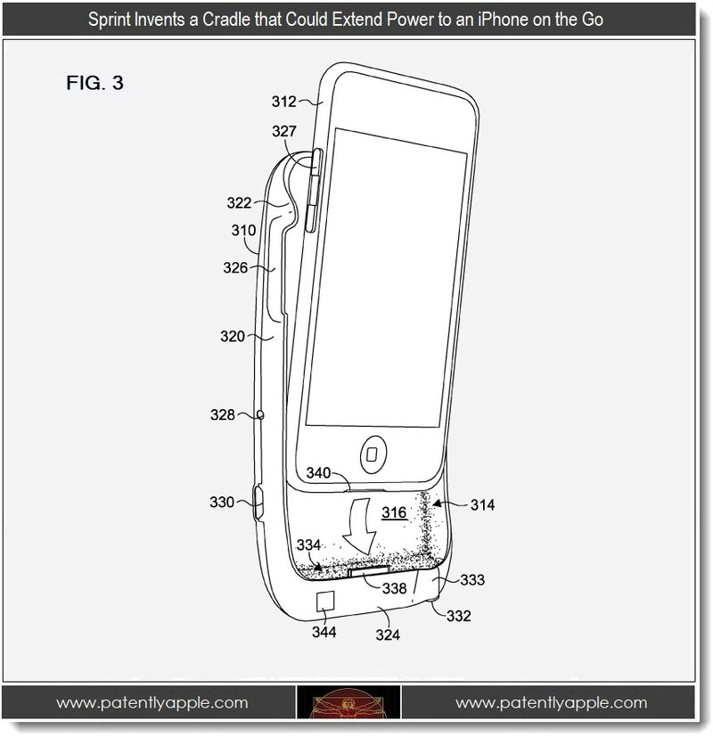 Extra - Sprint invents a cradle that could extend Power to an iPhone on the go