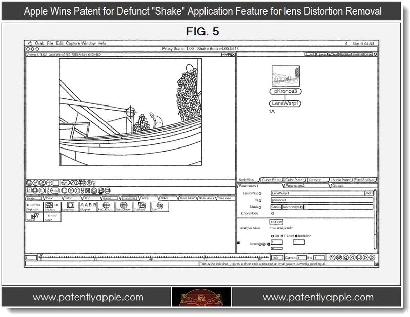 8 - Lens distortion removal feature in Shake wins patent