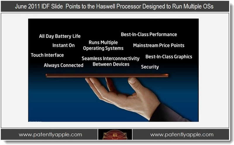 6 - idf 2005 slide, haswell designed to run mulitple operating systems