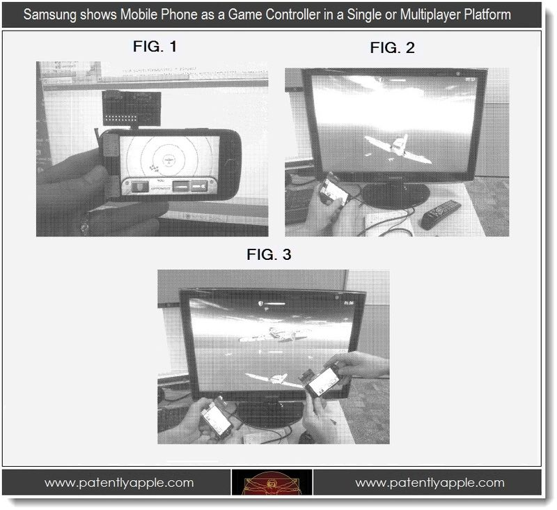 2 PA - Samsung patent, mobile phone with TV multiplayer platform