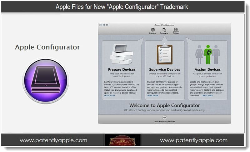1 - Apple Files for New Apple Configurator Trademark