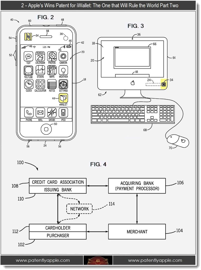 2 - Apple wins patent for iWallet, part two