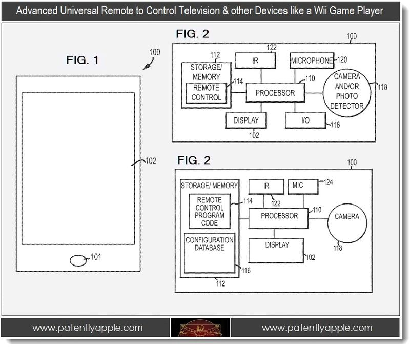 2 - Advanced Universal Remote, Apple invention