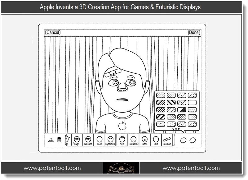 1 - Apple Invents a 3D Creation App for Games & Futuristic Displays
