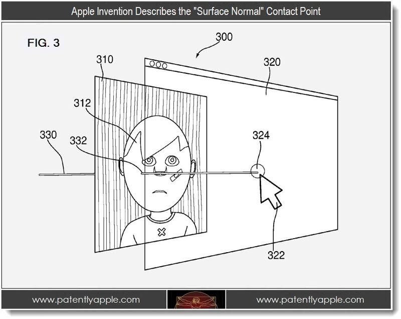 3 - Apple's Invention Describes the Surface Normal Contact Point