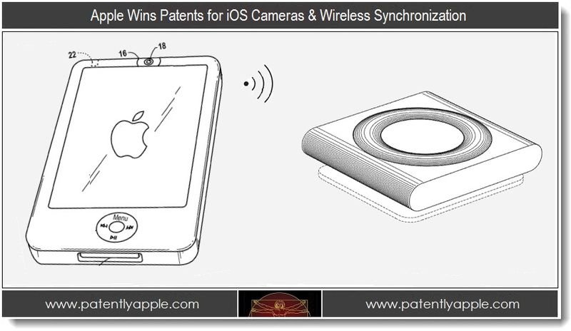 1 - Apple Wins Patents for iOS Cameras & Wireless Synchronization