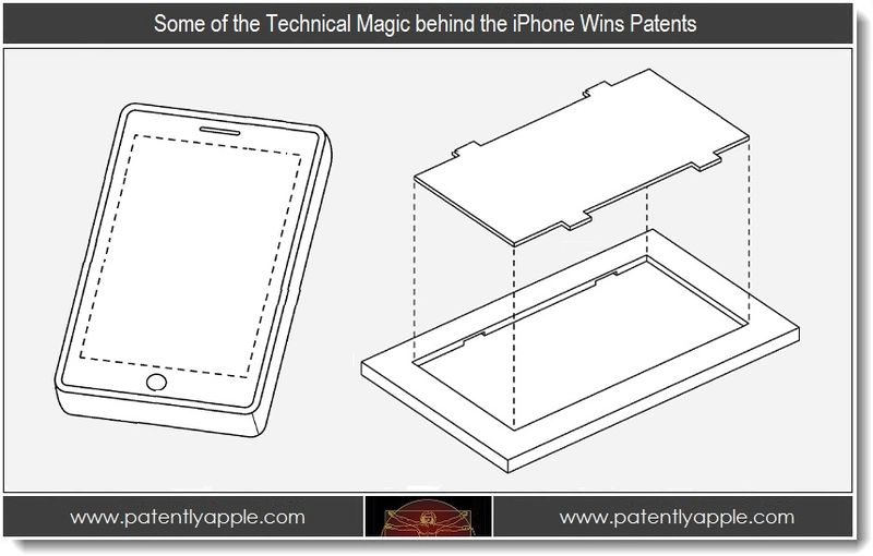 1 - Some of the Technical Magic behind the iPhone Wins Patents