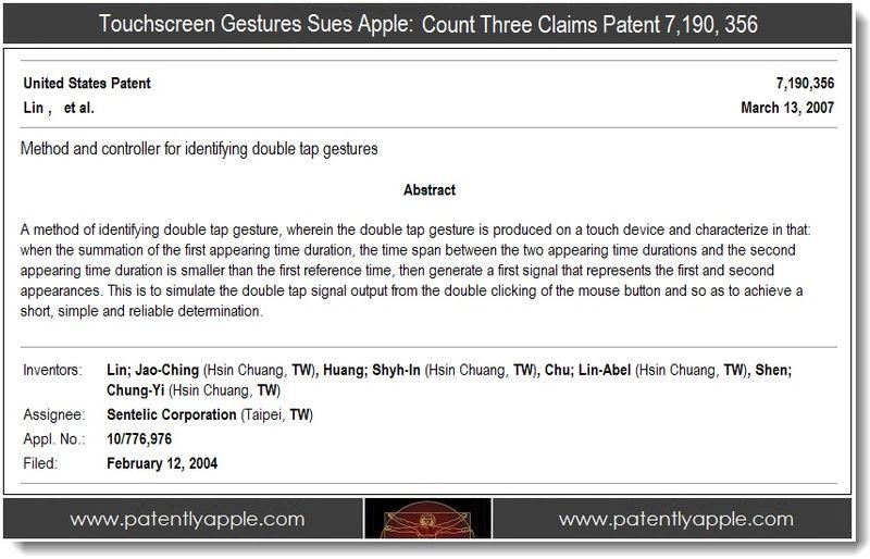 4 - patent 7,190, 356