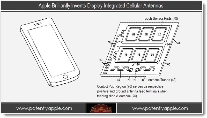 1 - Apple Brilliantly Invents Display-Integrated Cellular Antennas