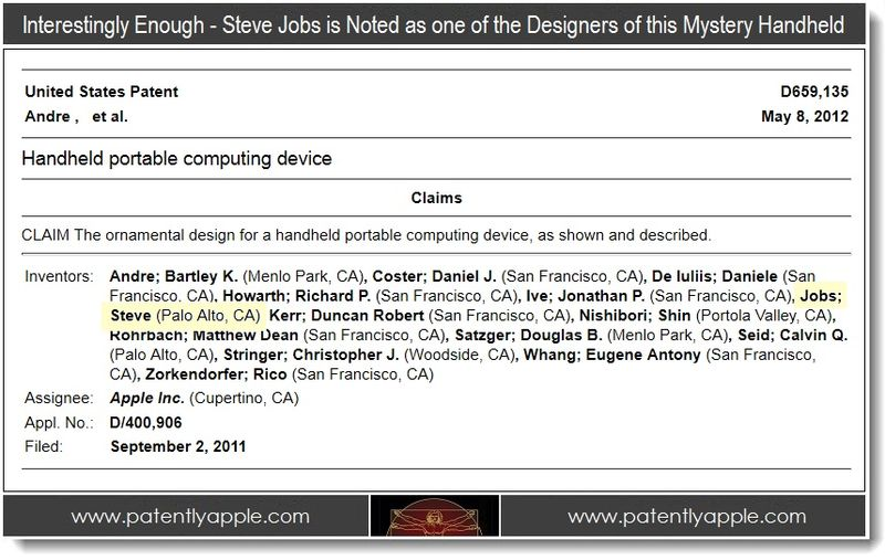5B - Steve Jobs noted as one of the designers of this mystery design