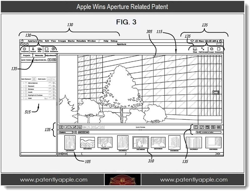 2. Apple Wins Aperture Related Patent