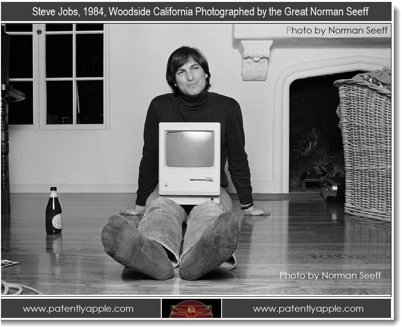 4. Steve Jobs, 1984, Woodside California, Photographed by the Great Norman Seeff