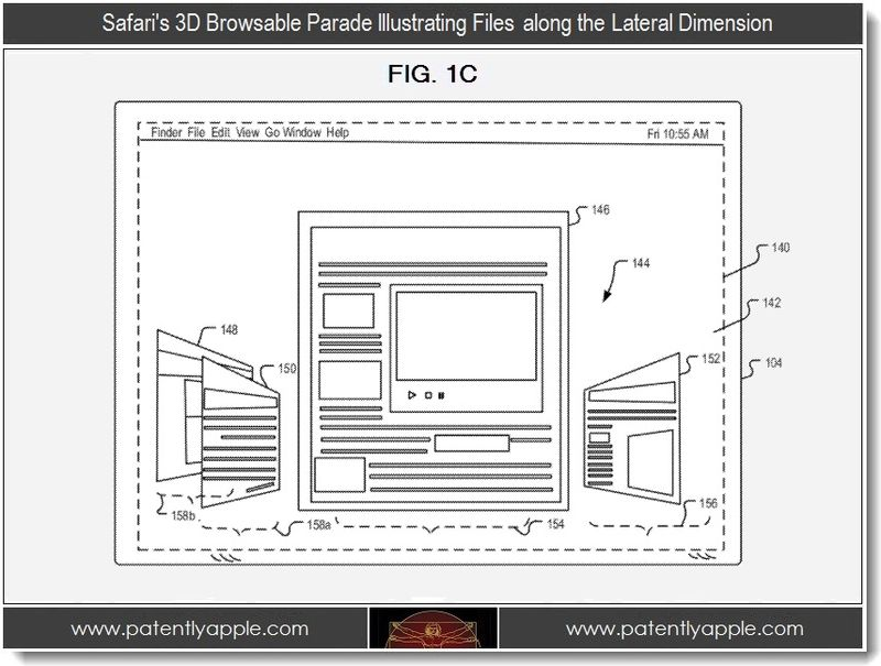 3. Safari's 3D browsable Parade Illustrating Files along the lateral dimension