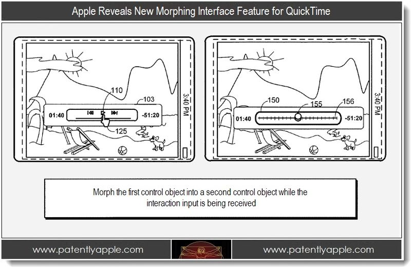 1. Apple Reveals New Morphing Interface Feature for QuickTime
