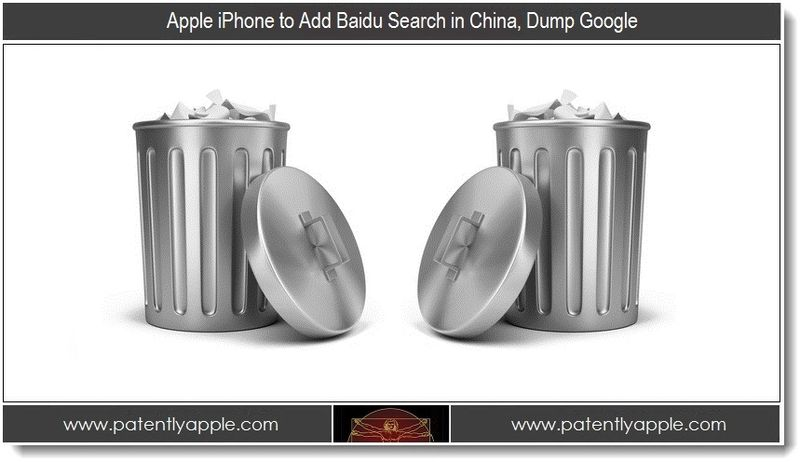1.5 - Apple iPhone to Add Baidu Search in China, Dump Google